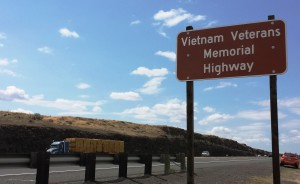 Vietnam Veterans Memorial Highway in Oregon